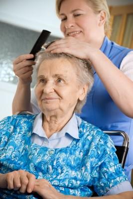 bathing help senior citizen